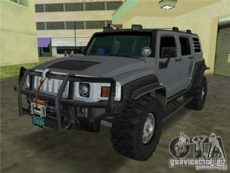 Hummer H3 SUV FBI для GTA Vice City