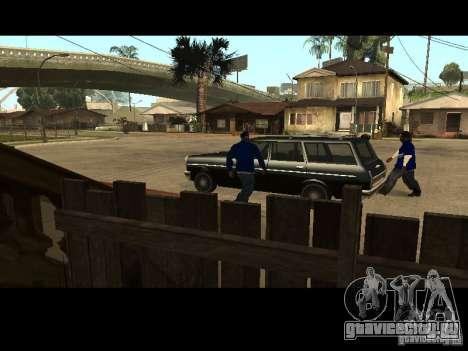 Piru Street Crips для GTA San Andreas седьмой скриншот