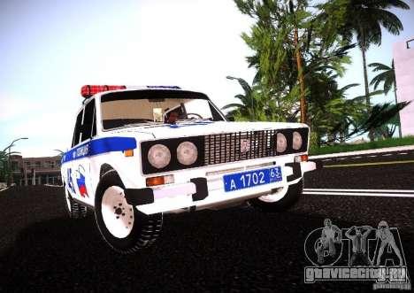 ВАЗ 2106 Полиция v2.0 для GTA San Andreas