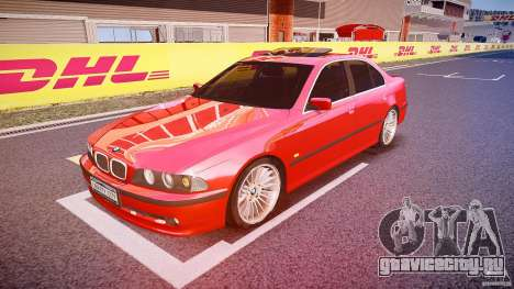 BMW 530I E39 stock chrome wheels для GTA 4
