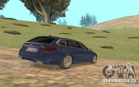 BMW M5 F11 Touring для GTA San Andreas вид сбоку