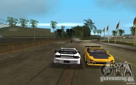Mazda RX-7 FD3S для GTA Vice City вид справа