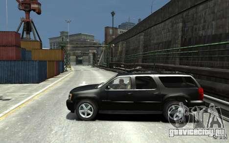 Chevrolet Suburban 2008 (beta) для GTA 4 вид слева