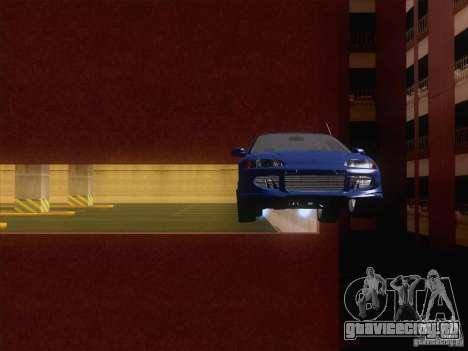 Honda Civic IV GTI для GTA San Andreas вид изнутри