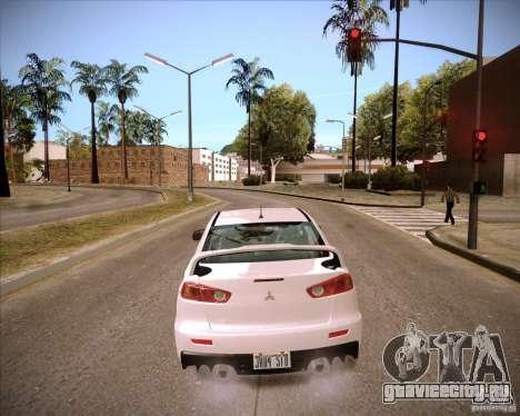 ENBSeries by slavheg для GTA San Andreas четвёртый скриншот