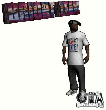 New Ballas Pack для GTA San Andreas четвёртый скриншот