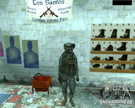 Скин пехотинца из CoD MW 2 для GTA San Andreas второй скриншот