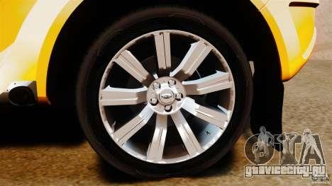 Bowler EXR S 2012 для GTA 4 вид изнутри