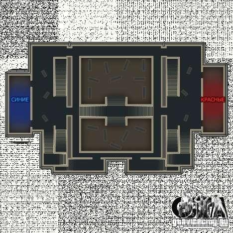 Library - карта из Point Blank для GTA San Andreas пятый скриншот