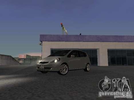 Honda Fit для GTA San Andreas вид слева