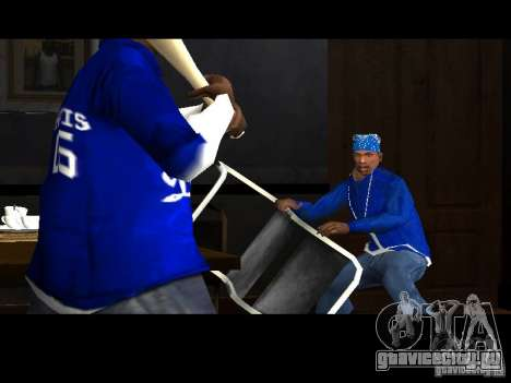 Piru Street Crips для GTA San Andreas четвёртый скриншот