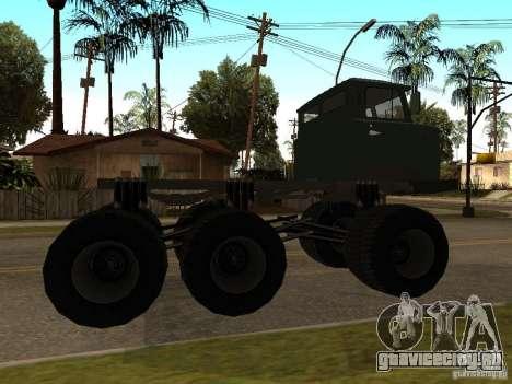 ГАЗ 66 Сайгак для GTA San Andreas вид сзади слева