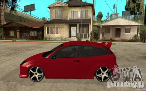 Ford Focus Coupe Tuning для GTA San Andreas вид слева