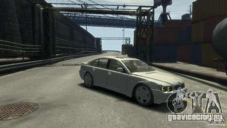 BMW 760I для GTA 4 вид справа