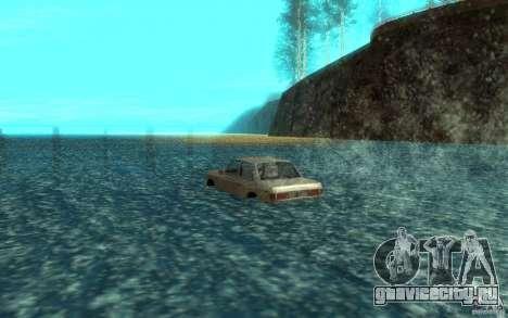 Admiral Boat для GTA San Andreas вид сзади слева