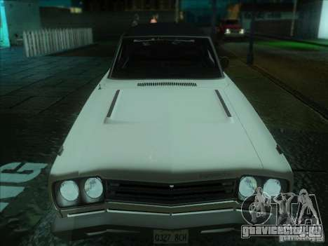 Plymouth Roadrunner 440 для GTA San Andreas вид слева