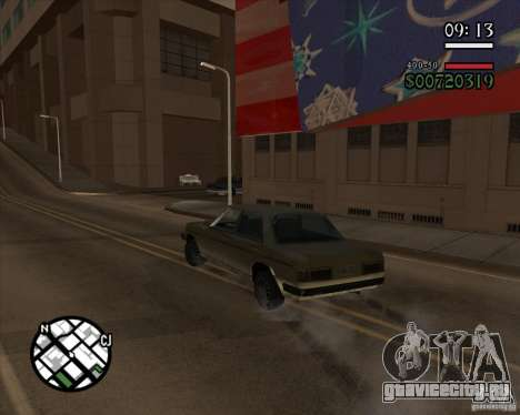 Новое реалистичное управление для GTA San Andreas третий скриншот
