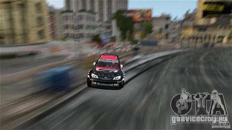 Subaru Impreza WRX STI Rallycross Eibach Springs для GTA 4 вид изнутри