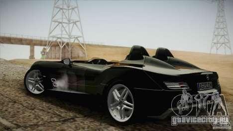 Mercedes-Benz SLR Stirling Moss 2005 для GTA San Andreas вид сзади