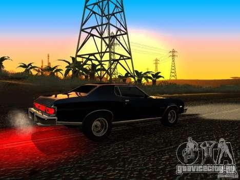 Ford Gran Torino 1975 для GTA San Andreas вид справа
