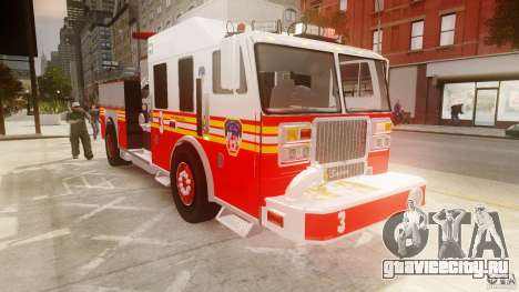 FDNY Seagrave Marauder II для GTA 4