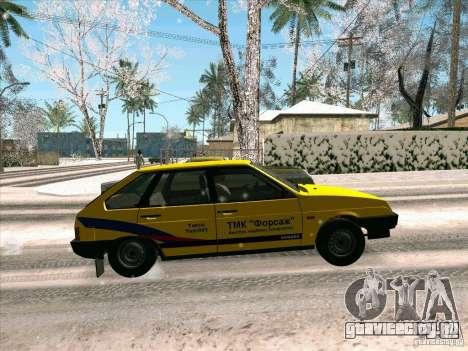 ВАЗ 21093i ТМК Форсаж для GTA San Andreas вид сбоку