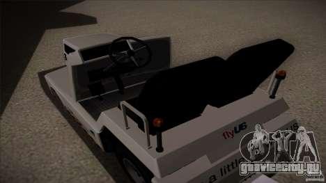 Air Tug from GTA IV для GTA San Andreas вид справа