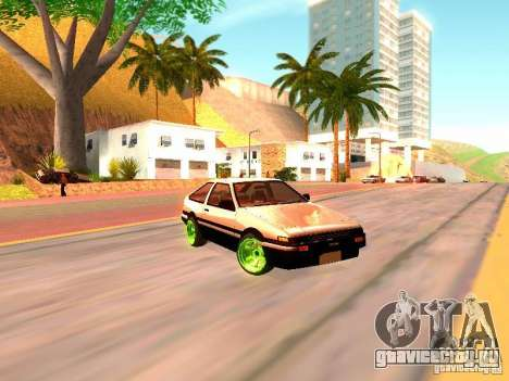 Toyota Corolla Carib AE86 для GTA San Andreas