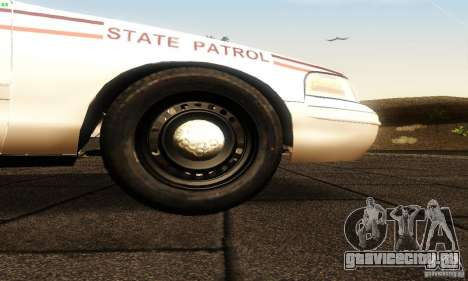 Ford Crown Victoria North Dakota Police для GTA San Andreas вид справа