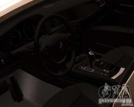 BMW 750Li 2010 для GTA San Andreas вид сбоку