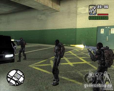 Сталкеры Группировки Долг для GTA San Andreas пятый скриншот