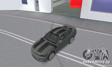 Saleen S281 Pack 2 для GTA San Andreas вид изнутри