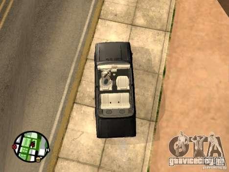 Ваз 2105 Кабриолет v1.3 для GTA San Andreas вид справа