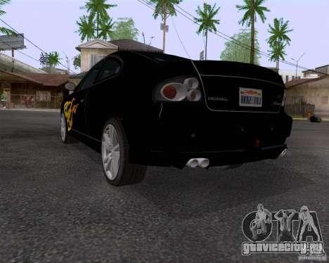 Vauxhall Monaco VX-R для GTA San Andreas вид сзади
