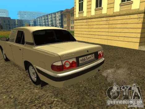 ГАЗ 31105 Волга рестайлинг для GTA San Andreas вид справа