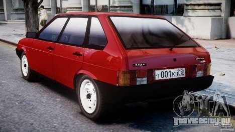 ВАЗ-21093i для GTA 4 вид справа