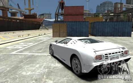 Bugatti EB110 Super Sport для GTA 4 вид сзади слева
