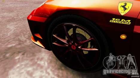 Ferrari 430 Spyder v1.5 для GTA 4 вид сзади