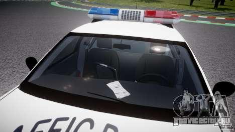 Ford Crown Victoria Karachi Traffic Police для GTA 4 вид сверху