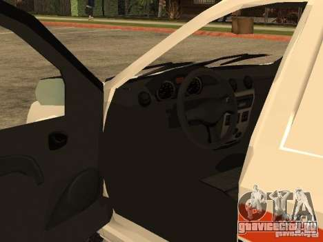 Dacia Logan Ambulanta для GTA San Andreas вид сверху