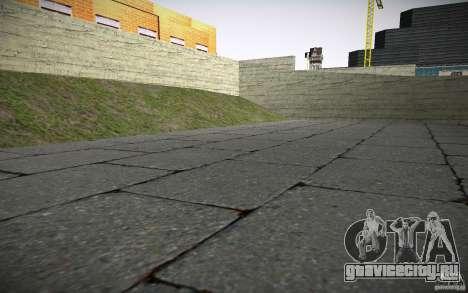 HD пожарная часть для GTA San Andreas седьмой скриншот