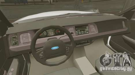 Ford Crown Victoria Unmarked ELS для GTA 4