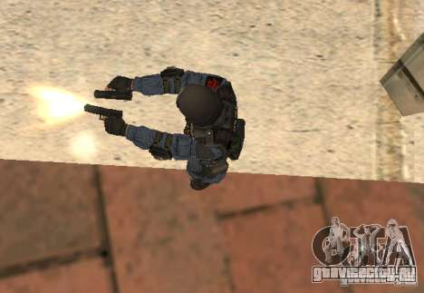 Glock 17 для GTA San Andreas третий скриншот