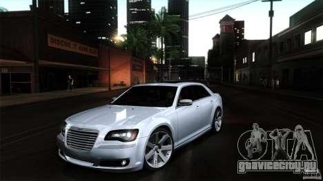 Chrysler 300C V8 Hemi Sedan 2011 для GTA San Andreas салон