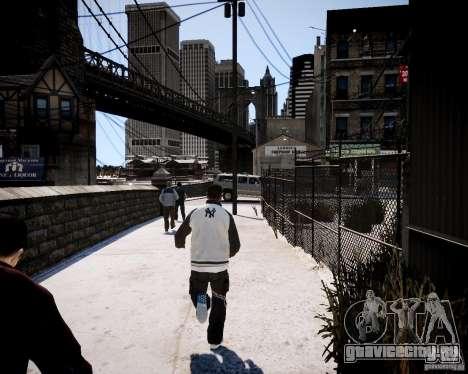 Niko - Cj для GTA 4 пятый скриншот