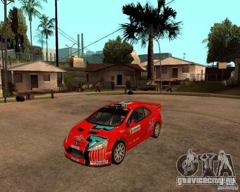 Peugeot 307 WRC для GTA San Andreas