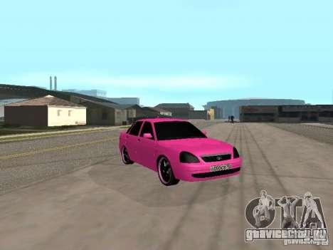 Лада Приора Эмо для GTA San Andreas вид справа