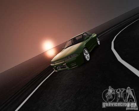 Nissan Skyline R32 GTS-t Veilside для GTA 4 вид изнутри