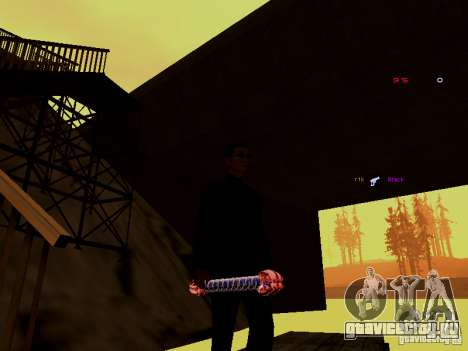 Ice Weapon Pack для GTA San Andreas третий скриншот