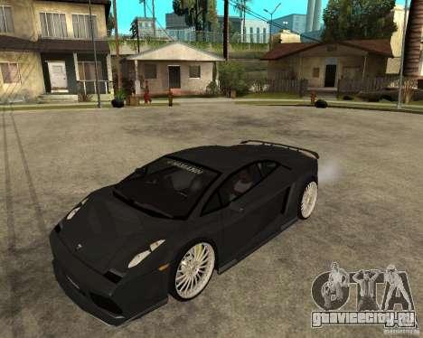 Lamborghini Gallardo HAMANN Tuning для GTA San Andreas